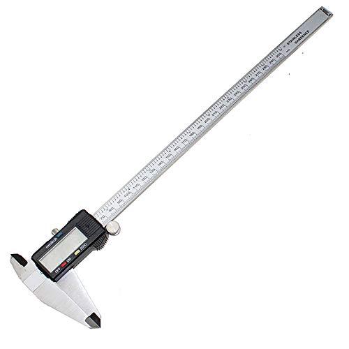 Digital Messschieber 300mm LCD Messschieber Mikrometer Werkzeug Extern & Intern Messbacken