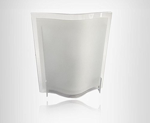 jinsung LED 5W Raum Flur Modern Deco Wall Scone E17Base Lampe Light/Glas (E17 Base Light)