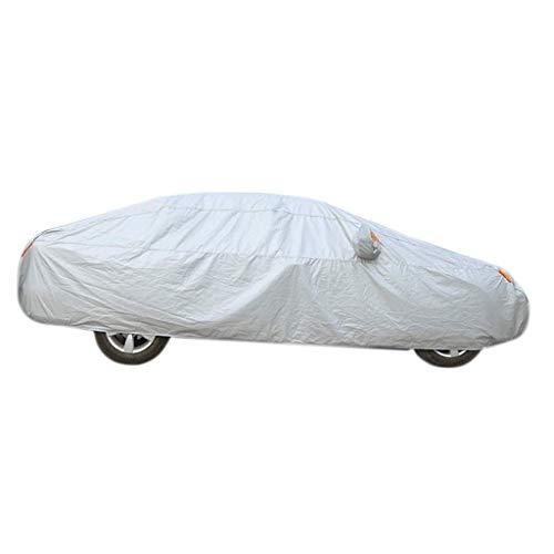 XMUEI Auto-Abdeckung wasserdichter Sonnen-Allwetterschutz für Automobil-gepaßten Limousinen-Innenlastwagen im Freien