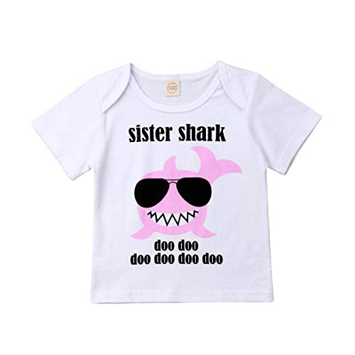 Big-brother-baby-strampelanzug (Frecoccialo Geschwister Shirt, Little Brother&Big Sister Briefe Gedruckte T-Shirt/Strampler Partnerlook Familien Kleidung)