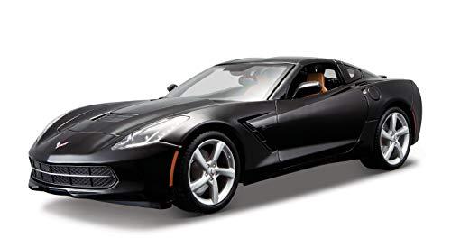 Maisto- Corvette, Color Negro (31182BK)