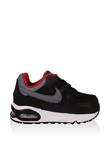 Nike Air Max Command (Td), Sneaker donna Nero / Grigio / Rosso
