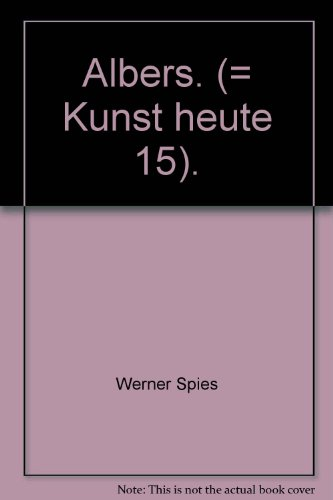 Josef Albers. Buch-Cover