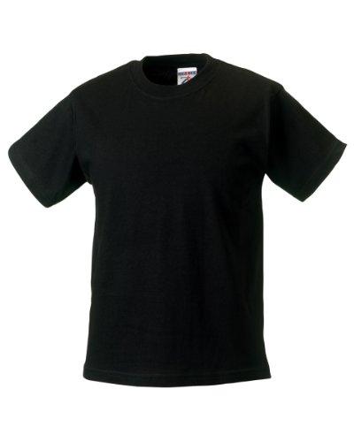 Jerzees Schoolgear T-Shirt Classic Schwarz - Schwarz