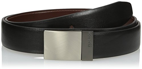 Kenneth Cole REACTION mens  Men's Reversible Plaque Belt Belt
