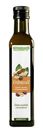 Vitaquell - Aceite de cacahuete (soplado y prensado en frío, 0,25 L)