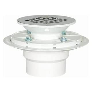 Sioux Chief 821-2PPK PVC Shower Pan Drain Stainless Steel Strainer by Sioux Chief