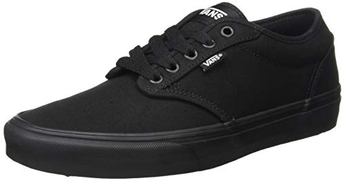Vans Atwood, Sneaker Uomo, Nero (Canvas) Black/Black, 41 EU