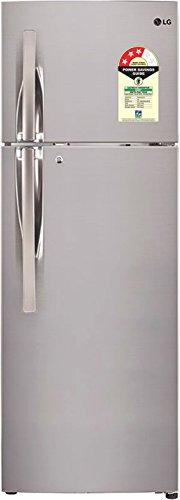 LG 260 L 3 Star Frost Free Double Door Refrigerator(GL-T292RPZU.APZZEBN, Shiny Steel, Inverter Compressor)