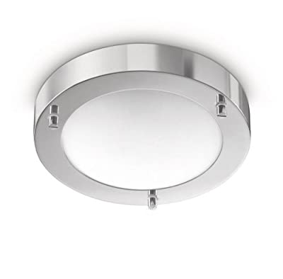 Philips MyBathroom Boat Ceiling Light Chrome (Includes 1 x 28 Watts G9 Bulb)