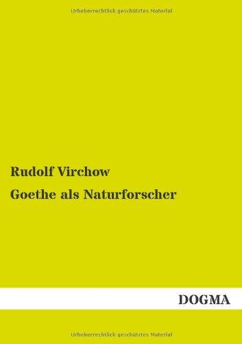 Goethe als Naturforscher