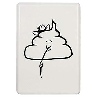 Azeeda 'Poo Wearing Hat' Fridge Magnet (FM00020419)