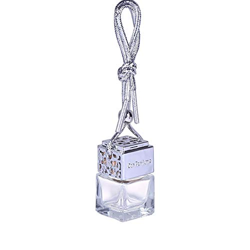 XIYAO nachfüllbare Auto-Parfüm-Flasche, die Lufterfrischer-Parfüm-Diffusor-Duft-Leere Flasche hängt -