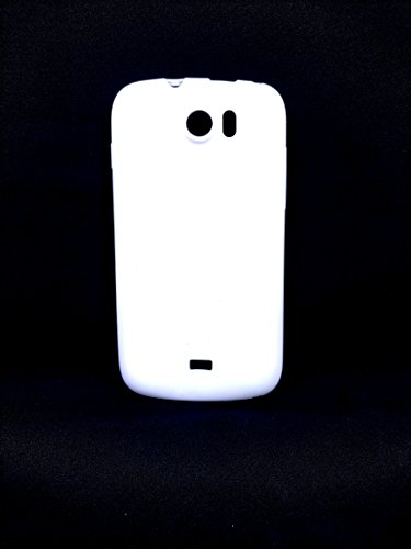 iCandy™ Colorfull Thin Soft TPU Back Cover For Micromax Canvas 2 A110 - White  available at amazon for Rs.109