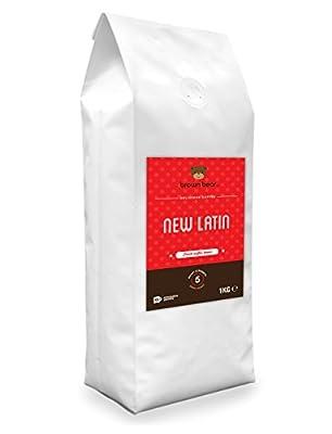 Brown Bear New Latin Dark Roast Whole Bean Coffee by Brown Bear