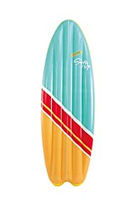 Intex - Tabla de surf de fibra de vidrio, 178 x 69 cm, colores surtidos