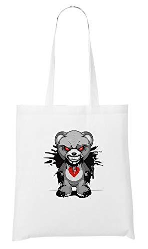 Certified Freak Horror Bear Bag White