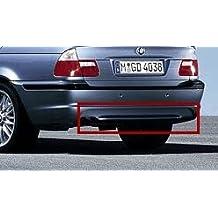 Difusor original BMW M para el faldón trasero M BMW Serie 3 E46 de 4 cilindros