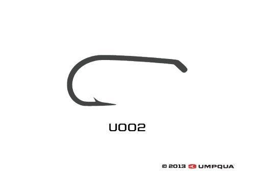 Umpqua u-Series Fliegenbinden Haken U002, Size 14-50 Pack -