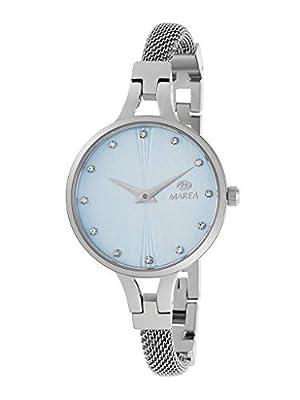 Reloj Marea Analógico Mujer B54158/3 con Esfera Azul Claro y Pedrería en Esfera