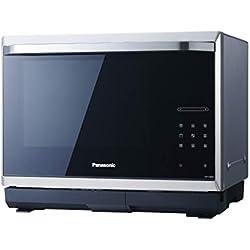 Panasonic 5025232777662 NN-CS894S Micro-ondes 32L inverter, générateur vapeur intégré, 32 liters, Noir