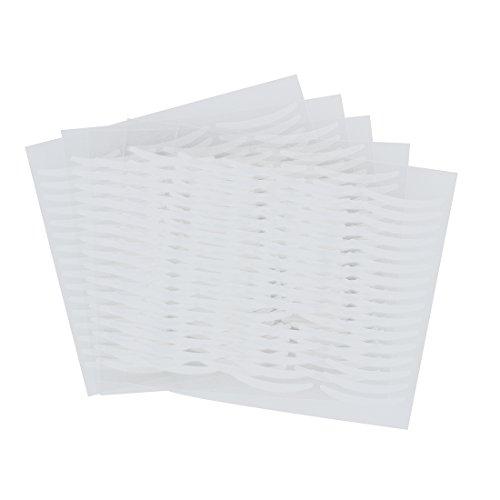 SODIAL(R) 120 Paires x autocollant pour double paupiere en blanc clair Outil de beaute