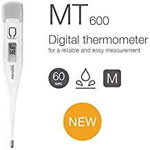Microlife MT600 - Termómetro de oído (con aviso de fiebre, ...