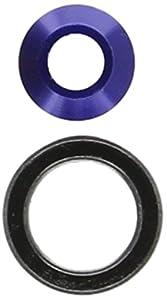 Traxxas 6893X (-) - Adaptador de rodamiento para Coche, Color Azul
