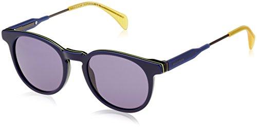 Tommy hilfiger th 1350/s 72 20f 49, occhiali da sole uomo, blu (blue dkrtblue/bluette)