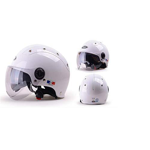 GZH Skateboard Helm Ideal Für Urban Skateboard/Scooter Skate/Inline Skating Mit Verstellbarem Stirnband Geeignet Für Erwachsene/Kinder/Jugendliche,White