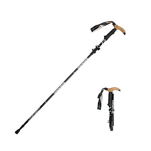 KORAMAN Bastone da Nordic Walking 28 cm - Ultralight, cinturino da polso regolabile, impugnatura ergonomica in Eva, manico del sudore - Palestra da Trekking 1514T per arrampicata