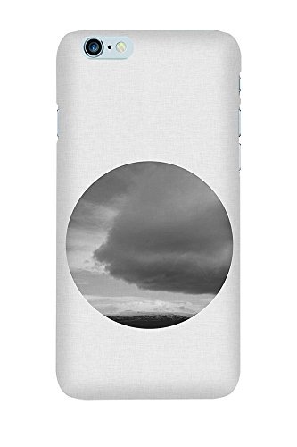 iPhone 4/4S Coque photo - Nuage Cercle III