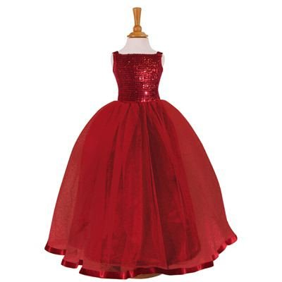 Ruby Sequin Ballgown Belle of the Ball Fancy Dress 9 years to 10 years [Toy]