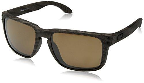 Ray-Ban Herren 0OO9417 Sonnenbrille, Schwarz (Woodgrain), 59