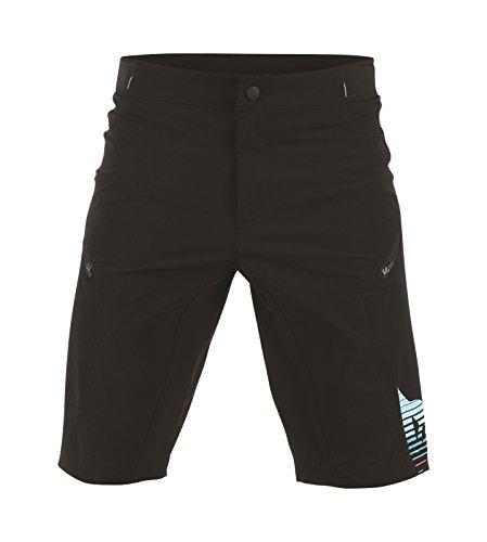 Dainese Damen Shorts Flow Tech, Kaleidoscope/Cyan, XL, 3769462_T35 (Mountain Short Tech)