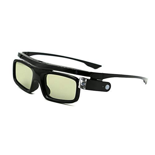 3D Gafas, Recargables Obturador Activo 3D Gafas Universales