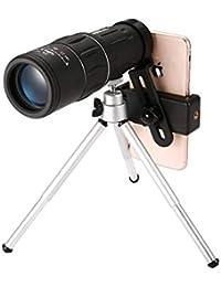 Ouken Dual Focus telescopio monocular Camping Vigilancia De Caza Viajar Ámbito Prisma con Duradero trípode y