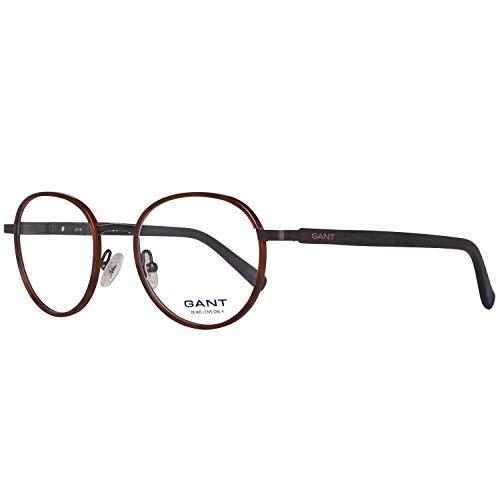 GANT Herren Brille Ga3081 047 48 Brillengestelle, Braun,
