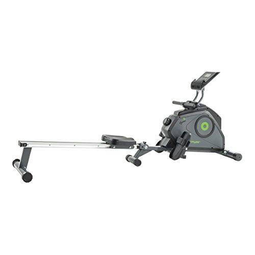 Tunturi Cardio Fit R30 Rower Rudergerät, Grau-Grün, One size