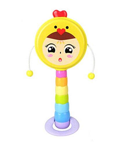 el-Baby-Spielzeug-Ton-Spielzeug Baby-Geklapper (Chicken) (Ton Ton Chicken)