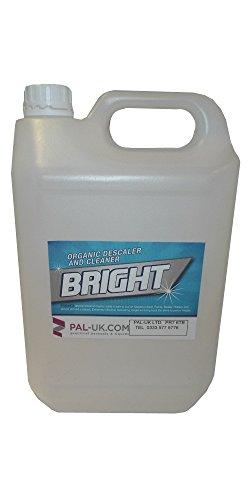 Bright 5litri Disincrostante Acido Organico E Aspirapolvere Forza Industriale