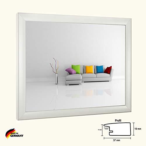 Bilderrahmen Olympia Weiss Matt 36 x 49 cm Puzzle modern stabil eckig hochwertig preiswert mit klarem Kunstglas