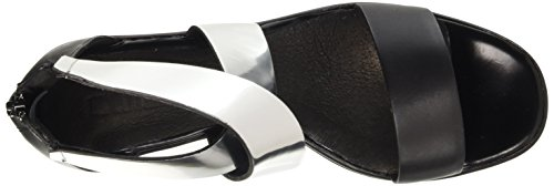 Cult Him, Sandali con Platea Donna Nero (Black/Silver)
