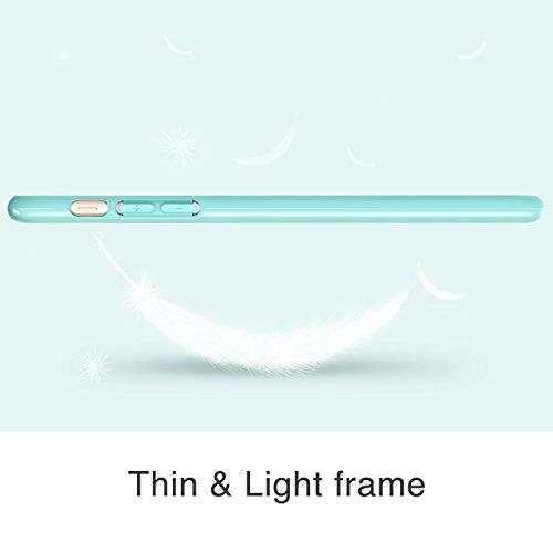 Coque iPhone 6 Plus, ESR iPhone 6 Plus TPU Coque Etui Housse Souple de protection pour iPhone 6 Plus 5,5 pouces (Bleu Ciel) [Anti-rayures] [ Adapté complètement] Vert