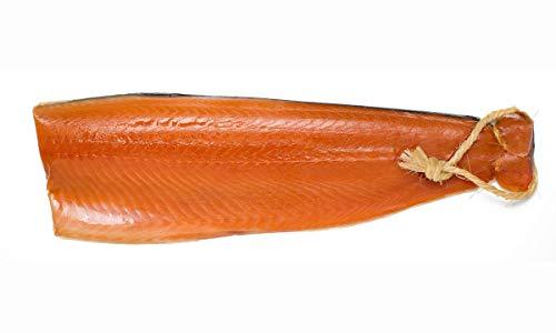 Räucherlachs ungeschnitten (Norwegen); ganze Seite geräuchert handgesalzen (600g)
