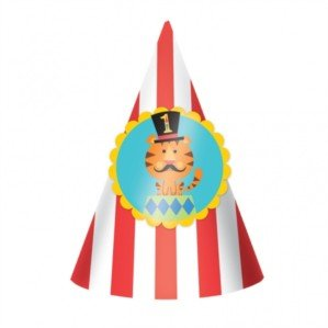 Circus Dress Up Ideen - Amscan 15.2cm Fisher Price Circus 8-Paper