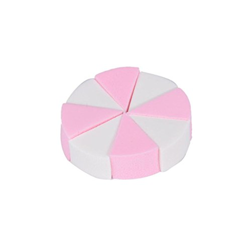 Internet 8PCS Maquillage Fondation Beauty Cosmetic Visage Facial Sponge Powder Puff