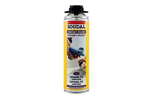 Soudal M276617 - Limpiador de espuma poliuretano 500ml
