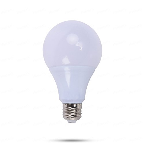 E26 E27 Bombillas LED de 12 voltios, 5W CA / CC 12-24V Bombillas de bajo voltaje, 3000K / 6000K para RV Camper Marine, Off Grid y luminaria solar 1PcsNOTA: estas bombillas son bombillas LED de bajo voltaje de 12-24 voltios, NO LO USE CON 110V O 220V ...