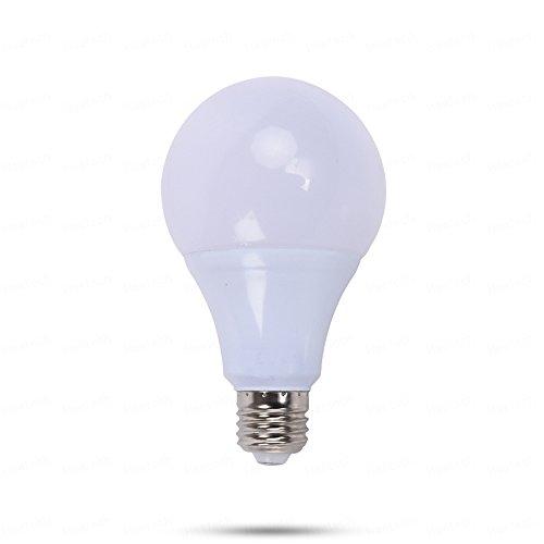 LED Glühbirne, E26 E27 12 Volt LED-Lampen, 5W AC/DC 12-24V Niederspannungsglühlampen, 3000K / 6000K für RV-Camper-Marine, netzunabhängige und Solarleuchte 1PCS (Farbe : Warmweiß) 5w Marine